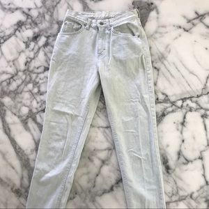 Lee jeans light washed